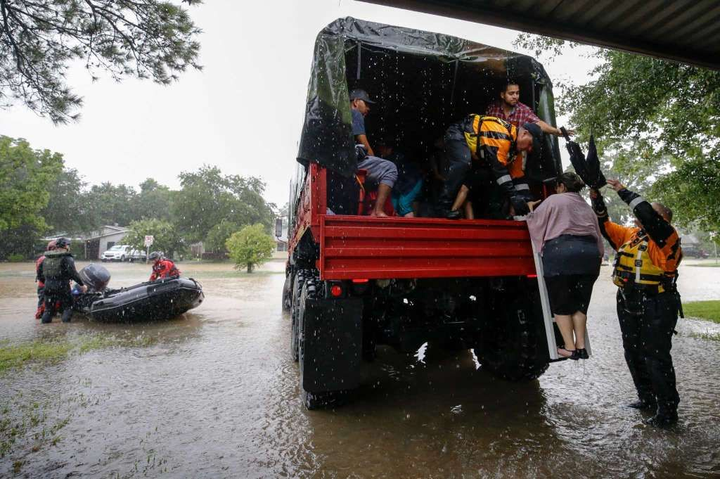 Harvey Aftermath Lull In Rain In Houston Area Expected To Be