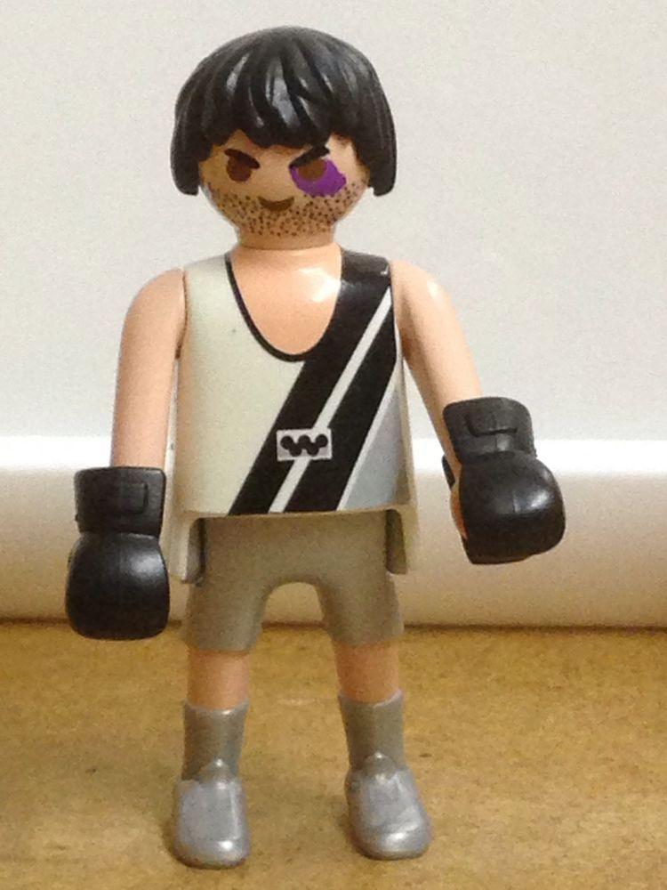 Playmobil.Figur 5203 Serie 1 Boxer Mann