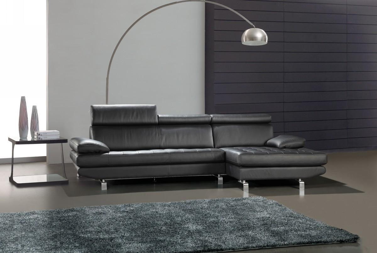 Besten Leder In L Form Sectional Sofas | Ledersofa schwarz ...