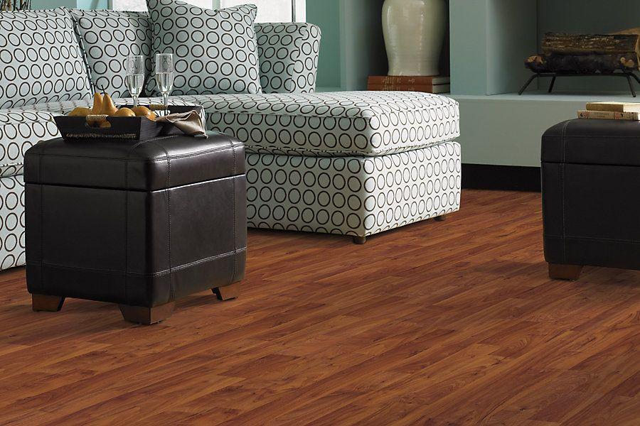 Bellingham Laminate Amber Walnut Plank Laminate Flooring