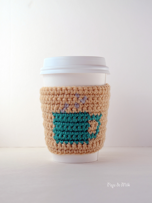 Coffee Cup Cosy | Crochet - For the Home | Pinterest