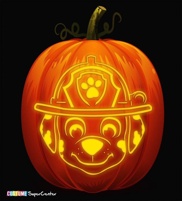 FREE Paw Patrol Pumpkin Stencils - Paw patrol pumpkin stencil, Pumpkin stencil, Halloween pumpkin stencils, Halloween pumpkin carving stencils, Cute pumpkin carving, Paw patrol halloween costume - Fetch the squad and get ready to search for the best pumpkin in the patch  Why, you ask  Because we've got some free pumpkin carving stencils that will save the day  When you're patroll…