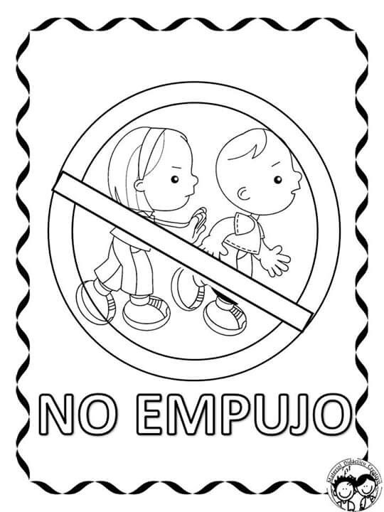 Pin De Denia Patricia Quesada V En Kinder Ideas Reglas De Seguridad Senales De Transito Senalamientos De Seguridad
