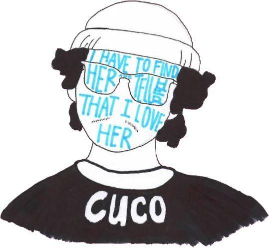 'Cuco' Sticker by carolyn-castro #cucowallpaper