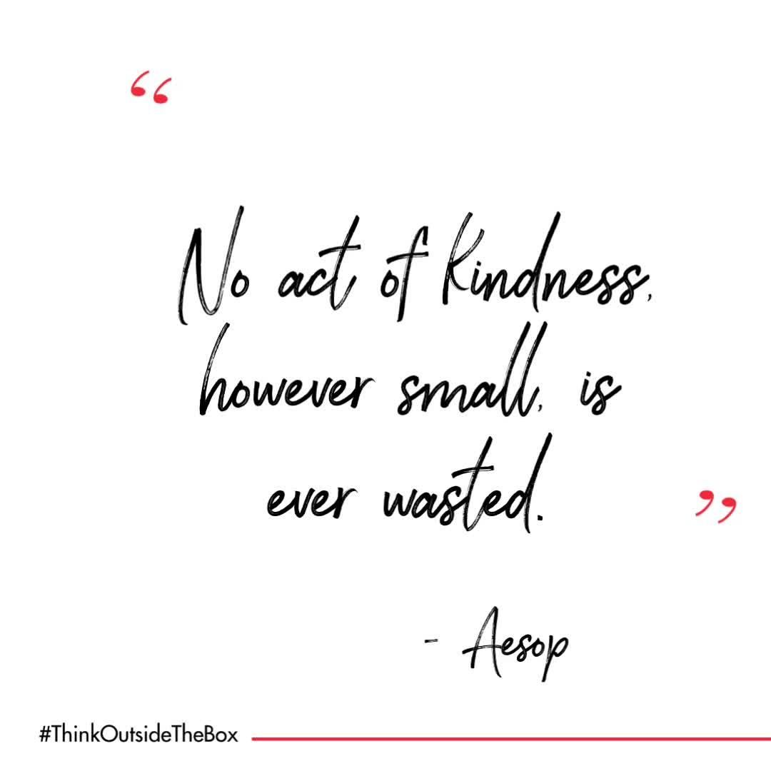 The kind thing to do is always the right thing to do, especially during these challenging times. Even if it's small and goes unnoticed, our kind acts make all the difference.   #WednesdayWisdom  #thinkoutsidetheBox #inspiring #quotes #inspiration #motivation #quoteoftheday  #positivevibes #positive
