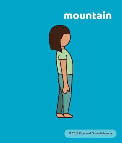yoga tip checking in with mountain pose in 2020  yoga