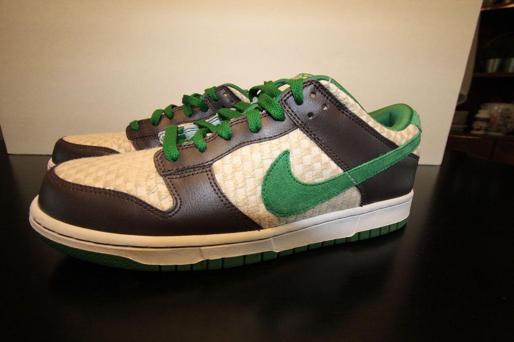 Comerciante itinerante análisis mañana  Nike SB Dunk Low 6.0 Men's Size 11 Hemp Supreme VNDS | Nike sb, Nike  skateboarding, Nike
