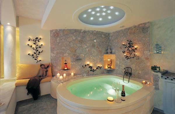 Honeymoon Indoor Hot Tub Romantic Bathrooms Amazing Bathrooms