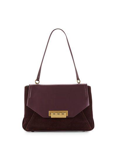 28b503a03f9 V2XBN ZAC Zac Posen Eartha Envelope Shoulder Bag, Grape   Bags ...
