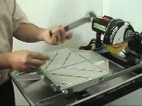 Pearl Abrasive Pa 7 Wet Tile Saw Tile Saw Tiles Tile Saws
