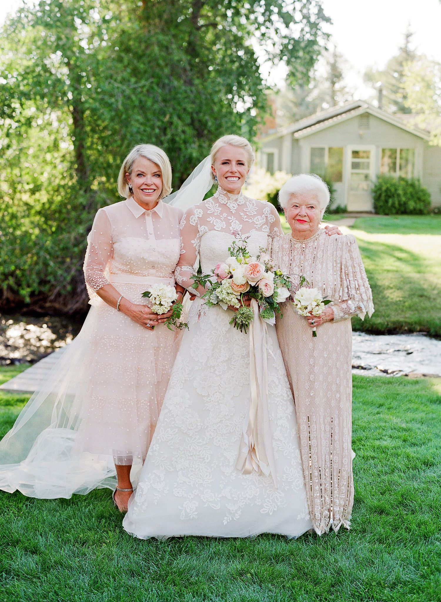Wedding dresses for grandmother of the groom  This Couple Made It Official on the Same Wyoming Ranch Where the