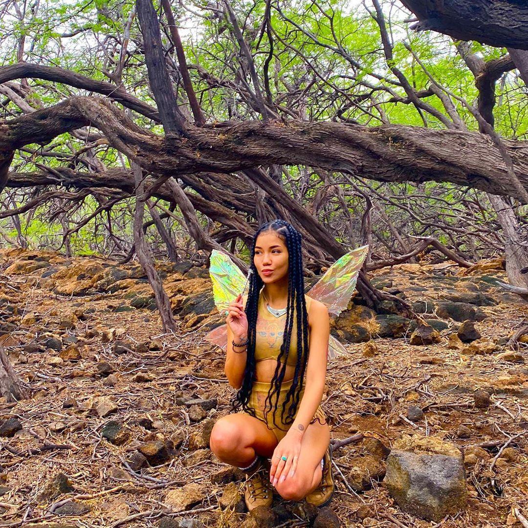 """Jhené Aiko Efuru Chilombo � on Instagram: """"kissy fairy ������"""""""