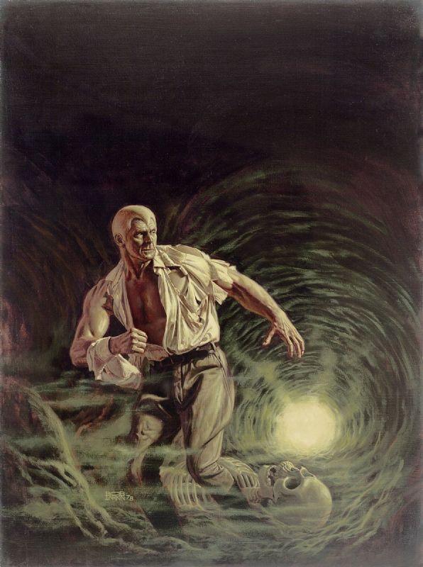 Doc Savage - Tunnel Terror - cover art