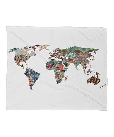 Loving this world map fleece throw on zulily zulilyfinds when loving this world map fleece throw on zulily zulilyfinds gumiabroncs Images