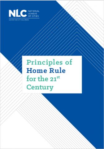 New Principles Of Home Rule Leagueofcities Homerule