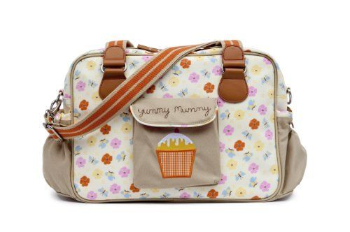 Pink Lining Yummy Mummy Baby Changing Bag Pansies by Pink