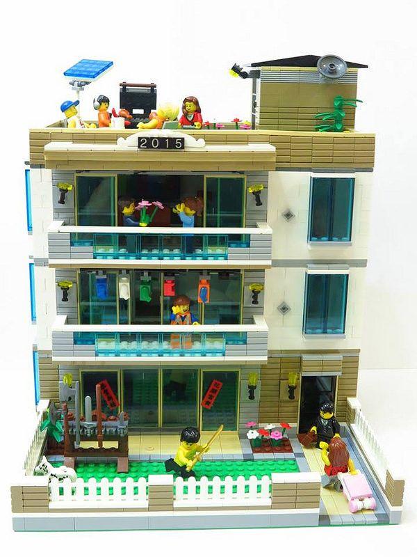 House Cool Lego Creations Lego Architecture Big Lego