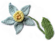 pdf fiori a maglia