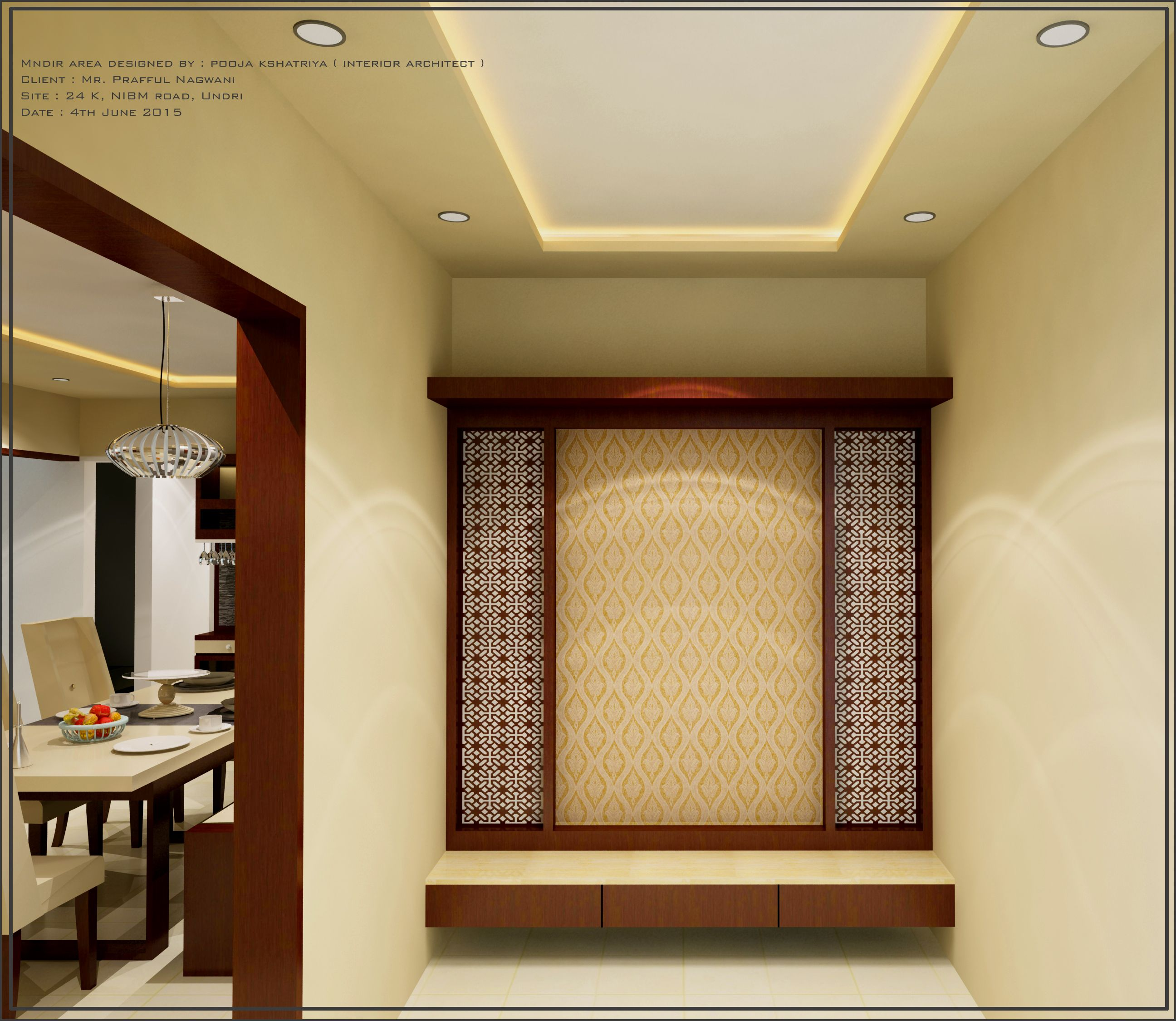 Related image Room deco Pinterest Puja room Room and Interior