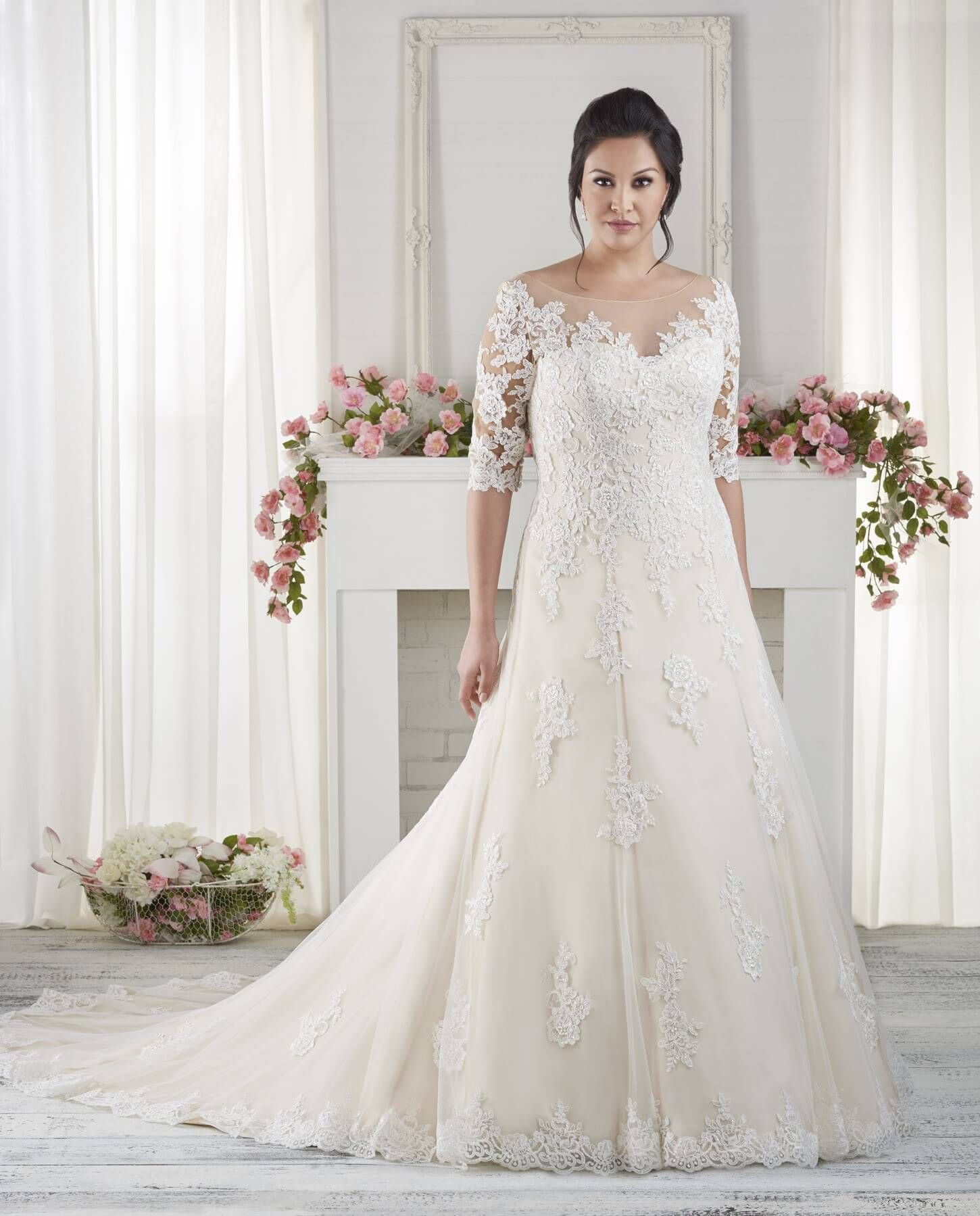 d15cfa82c2c Wedding Dresses for Chubby Brides - Wedding Dresses for Plus Size Check more  at http