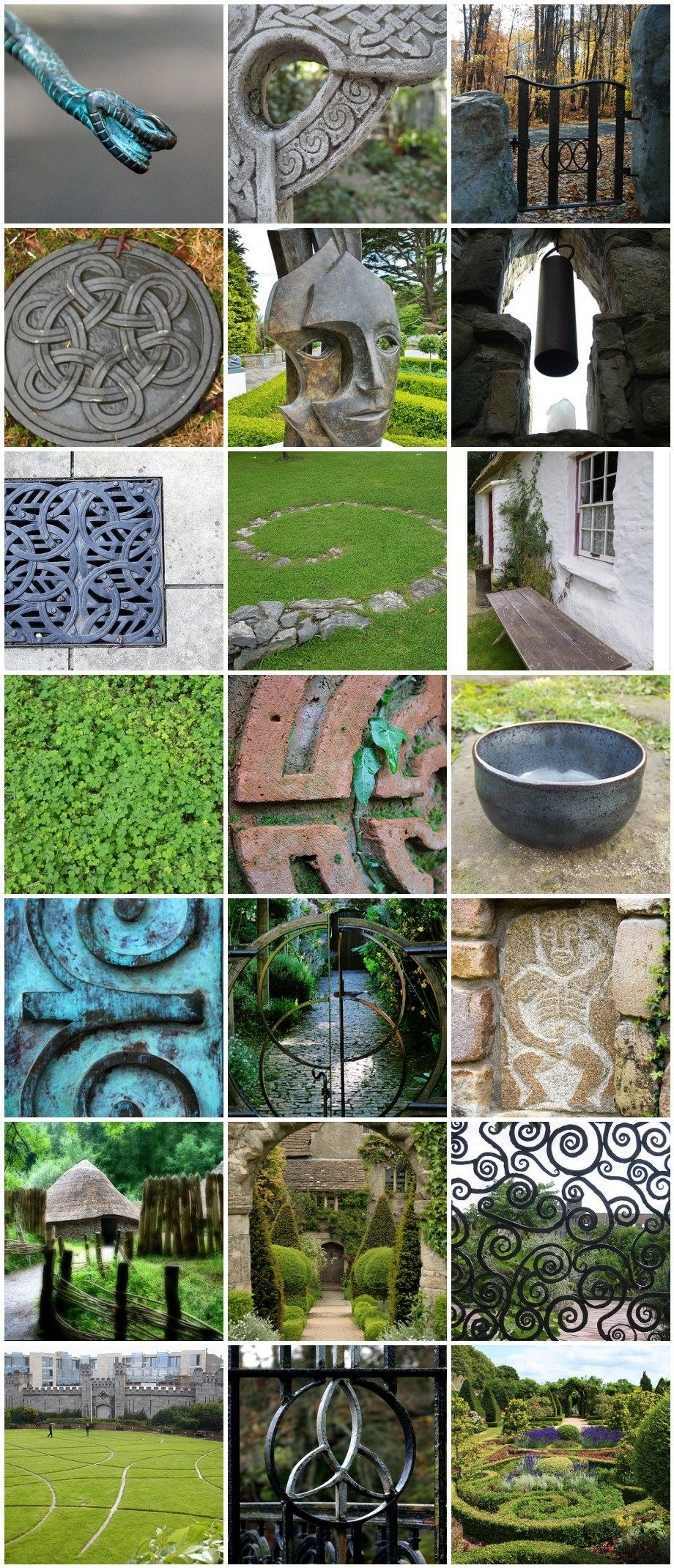 St Patrick\'s Day Celtic Garden Inspiration | Gardens