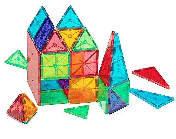 Clear Colors 100 Piece Set Magna Tiles Magnetic Tiles Magnetic Building Tiles