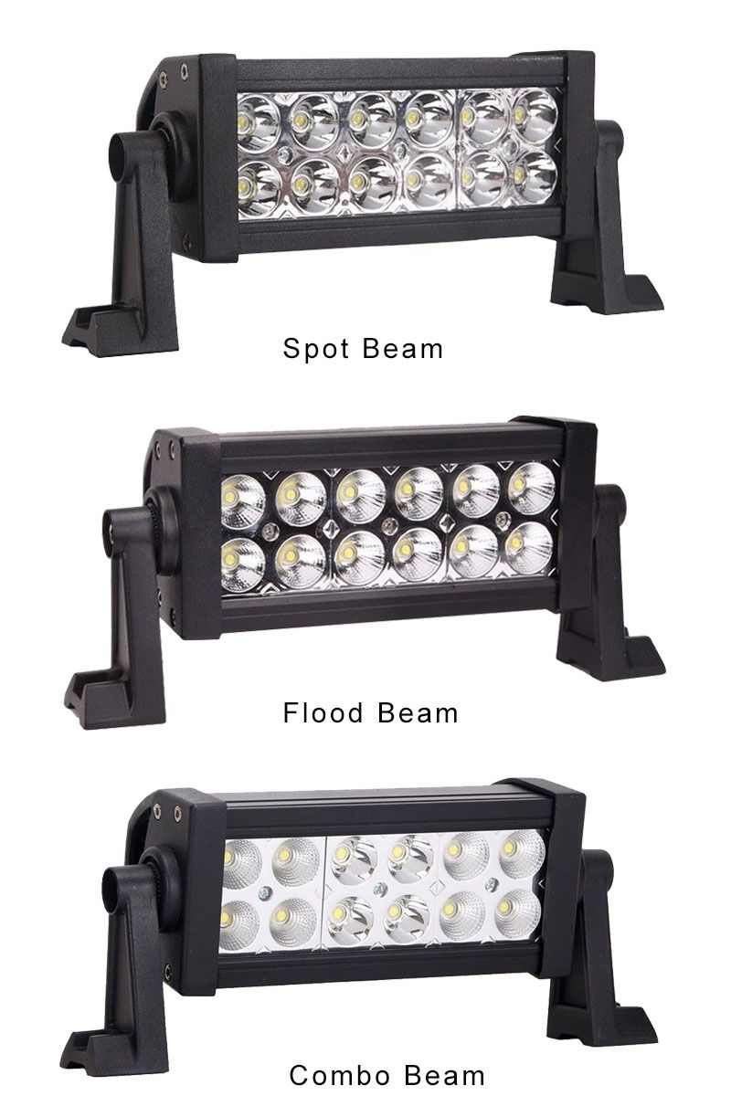 7 inch 36w dual row off road led light bar three types beam spot 7 inch 36w dual row off road led light bar three types beam spot mozeypictures Images