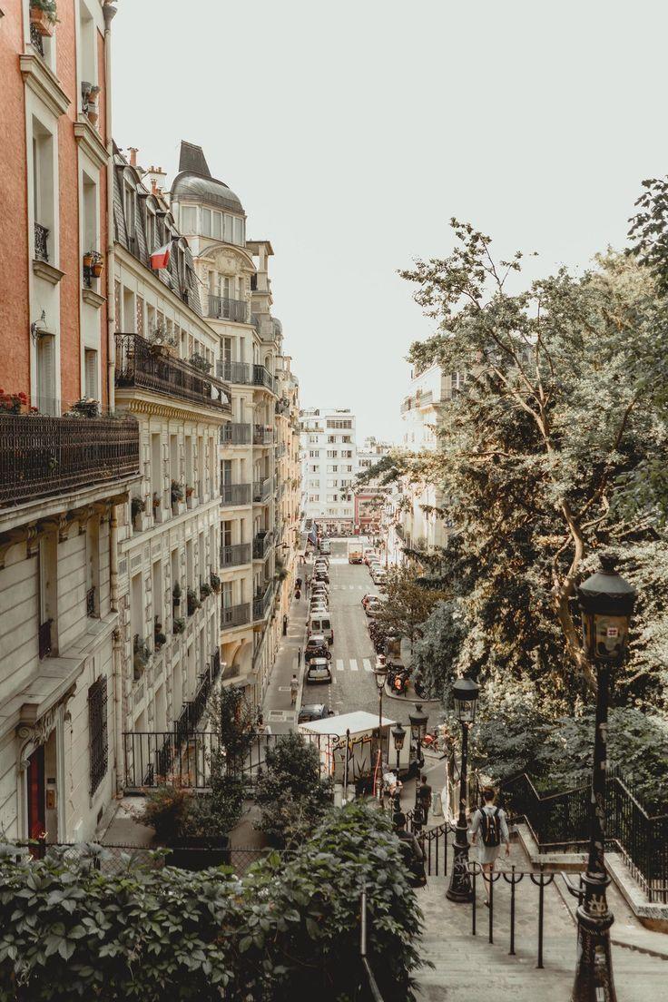 view from sacre coeur in paris #paris #paristravel #architecture #traveldestinations #placestovisit #france