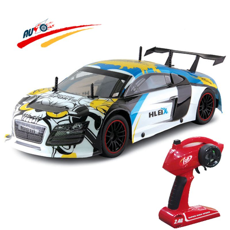 RC Car For R8 GT 2.4G Racing Drift Car 110 High Speed