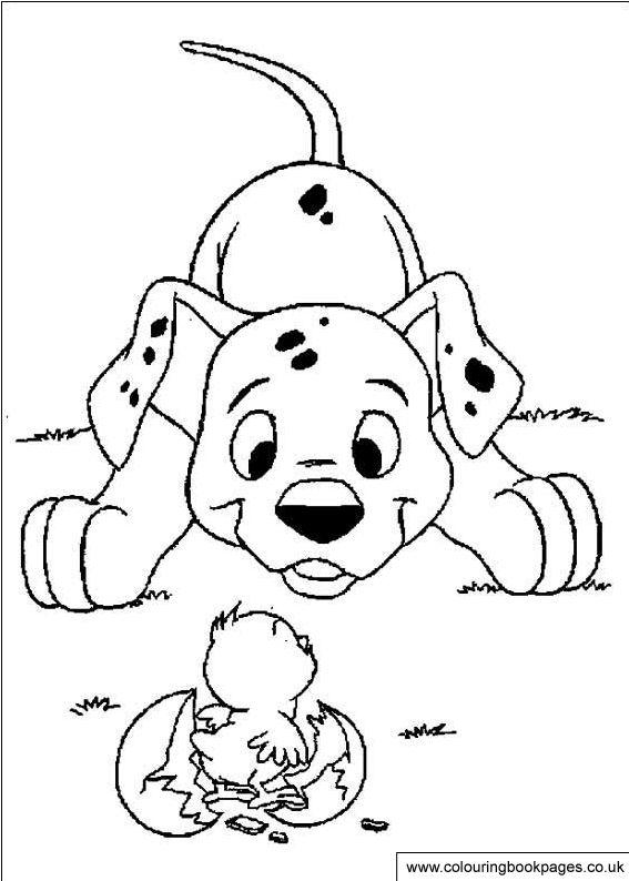 101 Dalmatians Kids Paintable Pictures