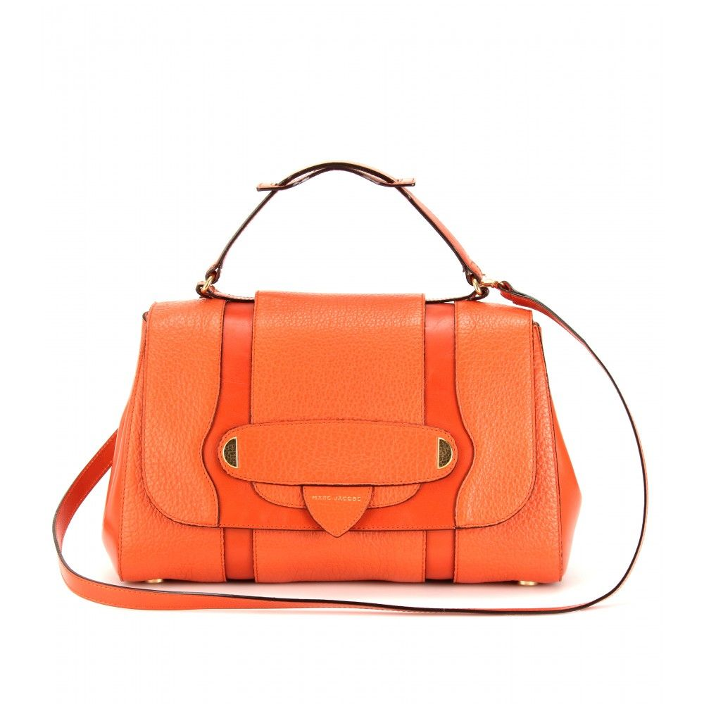 63f333b2283932 Marc Jacobs -- I know I don t appreciate the brand like I should, but I love  the orange! marc jacobs  thompson textured leather bag ...