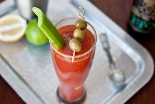 Brewed Mary: Beer Bloody Mary
