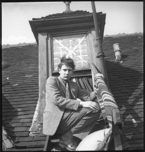 Lucian Freud by Francis Goodman, circa 1942