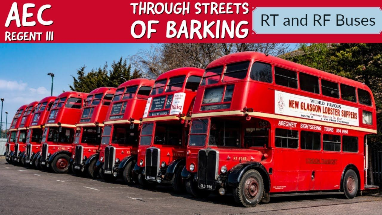 Unmissable Mechanical Sound Of Rt And Rf Buses Through The Streets Of Ba Bus London Bus Bus Coach