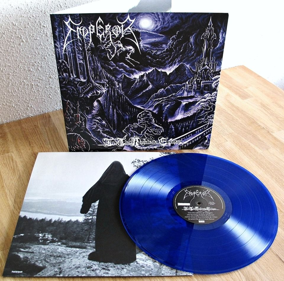 Emperor In The Nightside Eclipse Lp Reissue Candlelight Records Spinefarm Records 2017 Vinyl Candlelight Iron Maiden