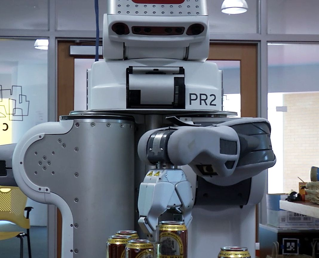 Finally A Robot That Serves Beer Bartender Beer Robot