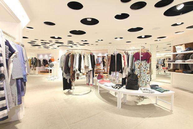 small clothes shop interior design ideas exterior