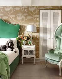 Image result for green headboard