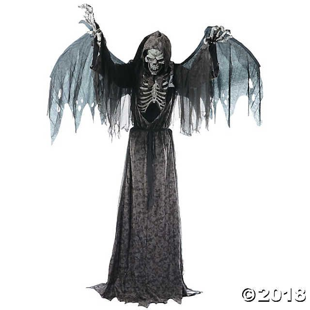 Animated Angel of Death Life-Size Halloween Décor crafts