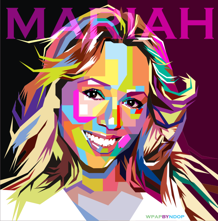 Mariahcarey Pop Art Pop Art Artists Pop Art Art