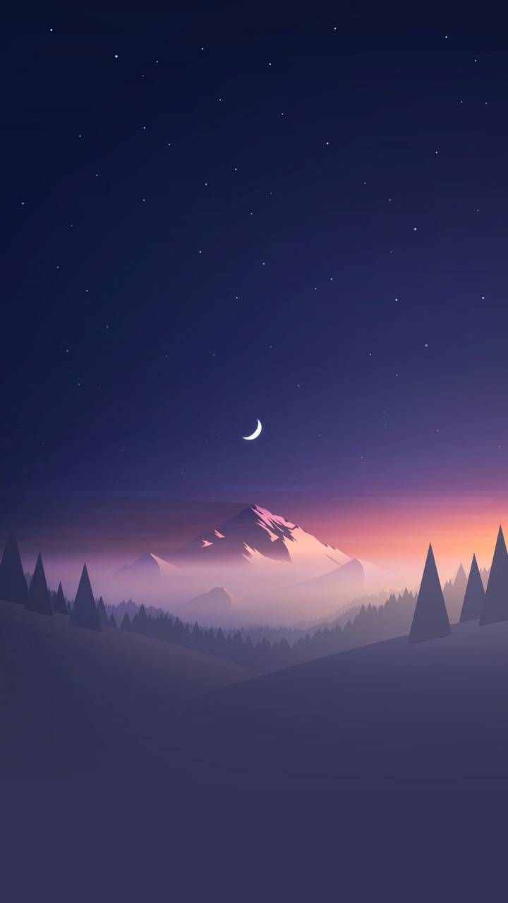 Mountains sunset wallpaper by Nimalus - c2 - Free on ZEDGE™