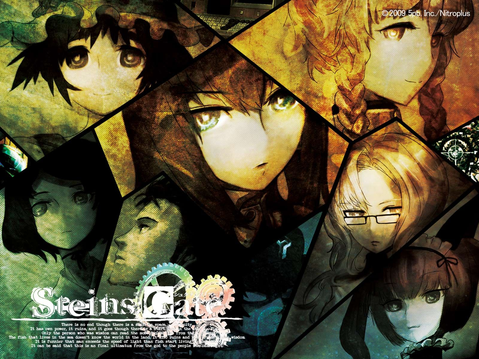 Anime Steins Gate Wallpaper Anime Anime Music Anime Films