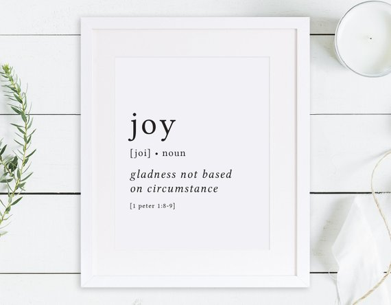 Joy Print Definition Print Fruit Of The Spirit Fruits Of The