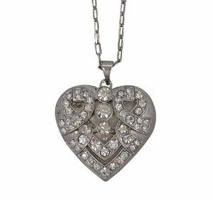 lovett and co locket heart necklace - Accessories Direct