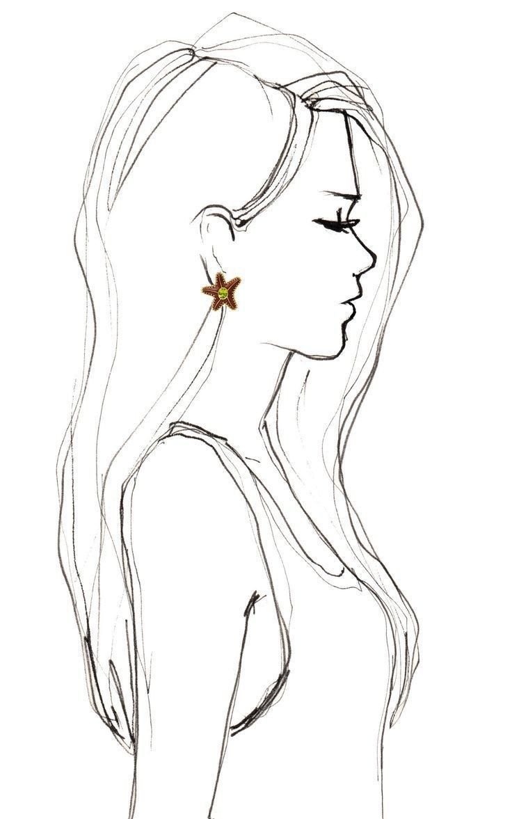 Pin By Hilda Booy On Western In 2020 How To Draw Hair Face Profile Drawing Girl Face Drawing
