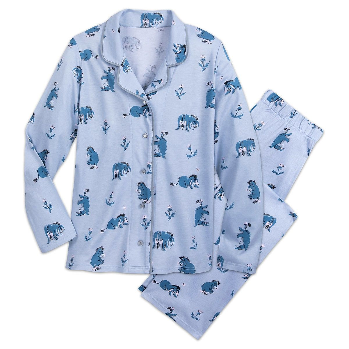 a0c4dfee8 Eeyore Pajama Coat Set for Women by Munki Munki in 2019 | Clothing I ...