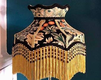 Victorian Lamp Shades Funky Shades Quirky De Pantallalampshades In 2020 Victorian Lampshades Bohemian Decor Diy Victorian Lamps