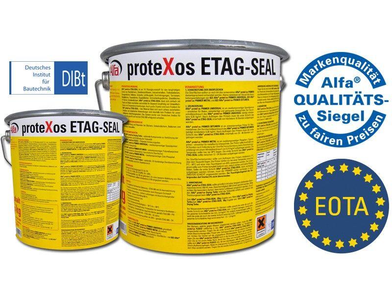 820 Alfa proteXos ETAG-SEAL, Abdichtung mit Flüssigkunststoff