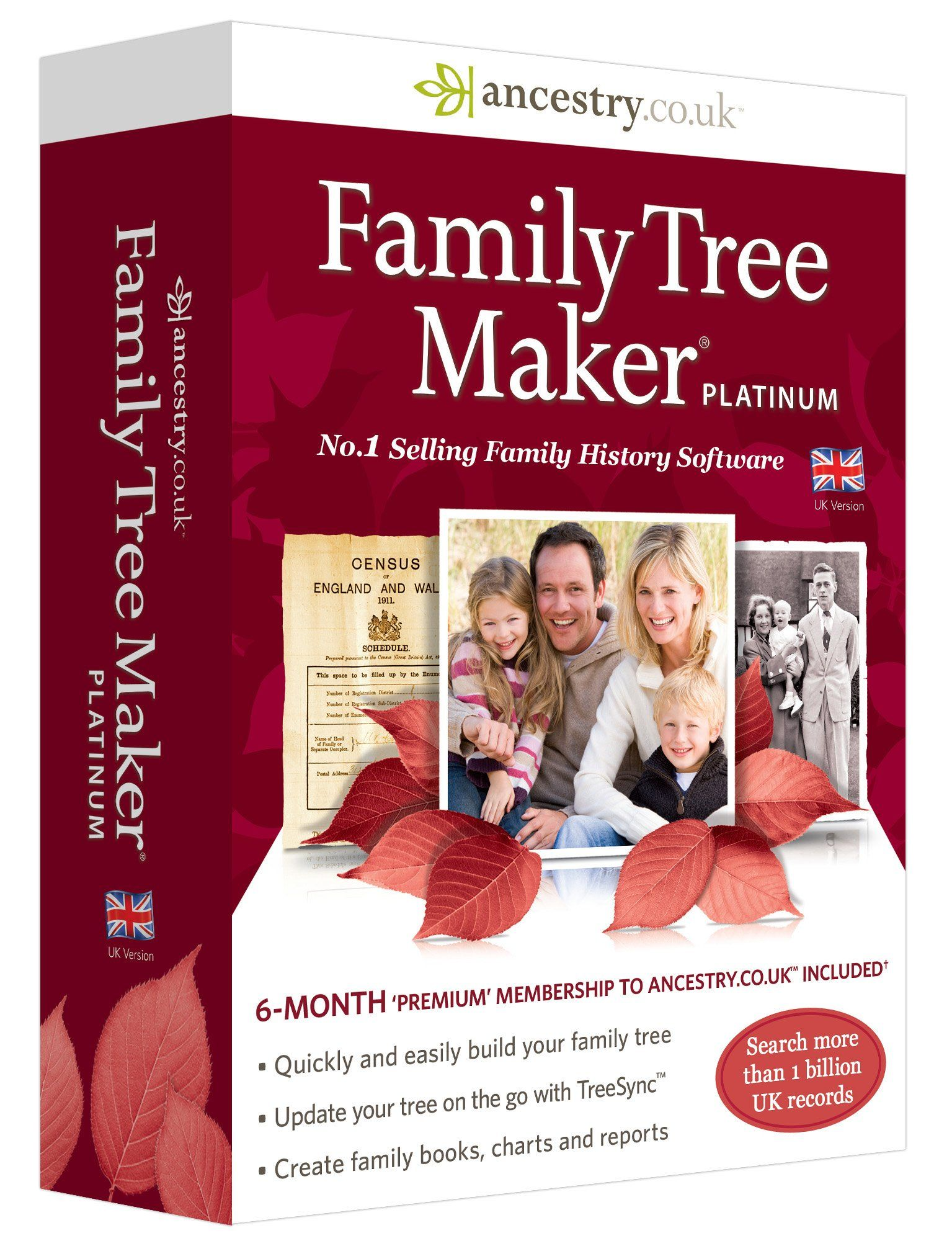 family tree maker platinum edition pc amazon co uk software