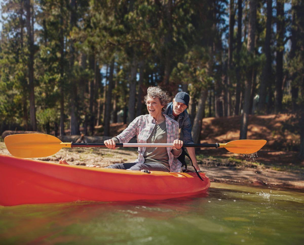 How to get in a kayak kayaking white water kayak